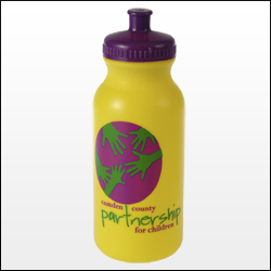 Picture of 20 oz. Colored Bike Bottle, Promotional Logo  20 oz. Colored Bike Bottle