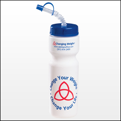Picture of 28 oz Bike Bottle with Straw Cap, Promotional Logo 28 oz Bike Bottle with Straw Cap