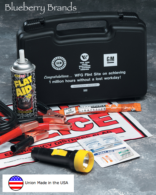 Picture of Deluxe Auto Emergency Kit, Promotional Logo Deluxe Auto Emergency Kits