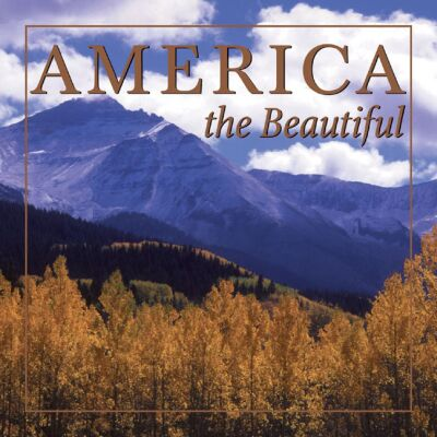 Picture of Gift Book: AMERICA The Beautiful, Promotional Logo Gift Books