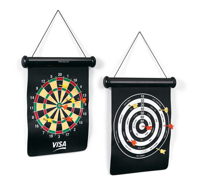 Picture of Bullseye Dartboard, Promotional Logo Bullseye Dartboard