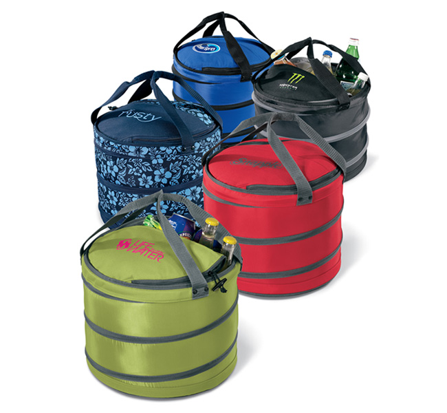 Picture of Collapsible Party Cooler, Promotional Logo Collapsible Party Coolers