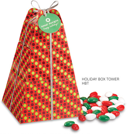 Picture of Holiday Candy Box Tower