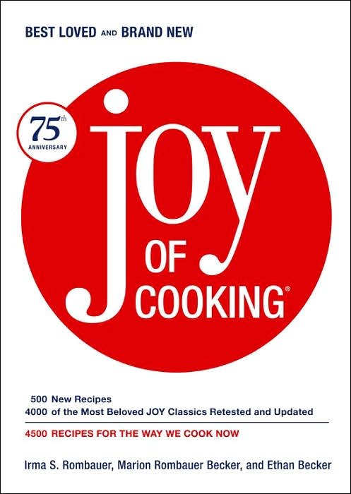 Picture of Books: Cookbooks: Joy of Cooking: 75th Anniversary Edition