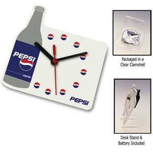 Picture of Desk Clock or Wall Clock, Promotional Logo Desk Clock or Wall Clock