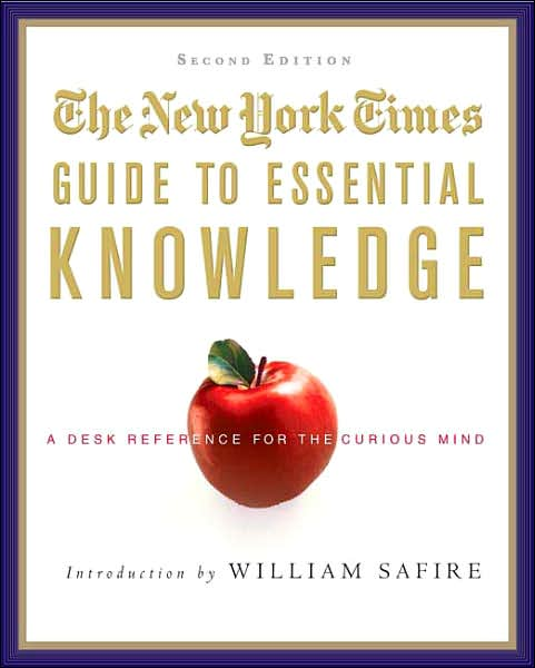 Picture of Gift Book: The New York Times Guide to Essential Knowledge