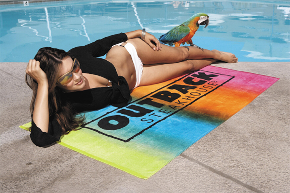 Picture of Parrot Towel, Promotional Logo Parrot Towel.