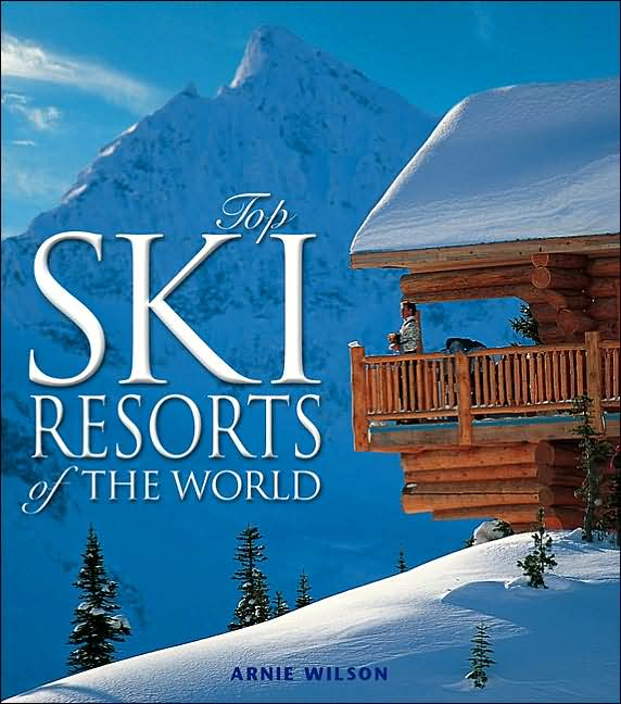 Picture of Books: Travel: Top Ski Resorts of the World, Promotional Logo Ski Resorts Coffee Table Book
