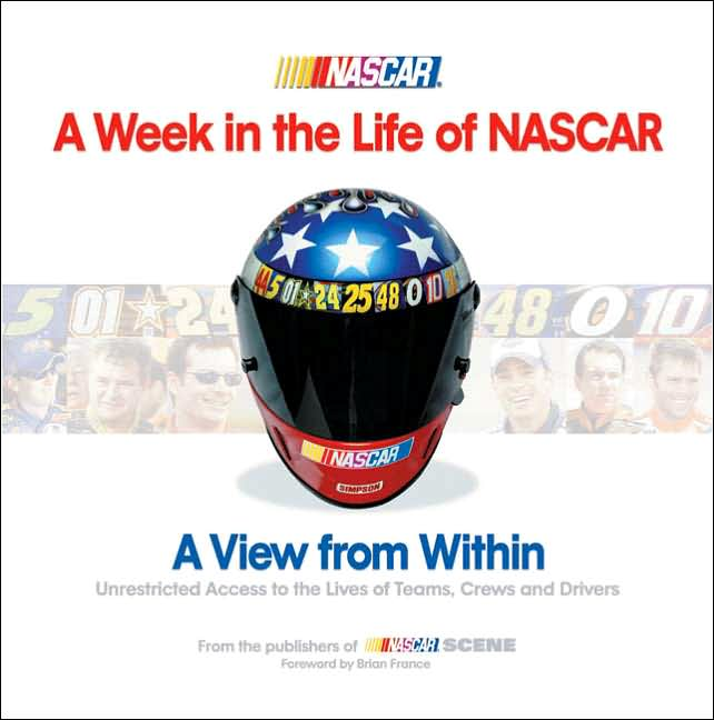 Picture of Gift Book: Sports: A Week in the Life of NASCAR