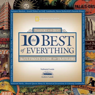 Picture of Gift Book: The 10 Best of Everything: A Life List for Travelers, Promotional Logo Gift Books