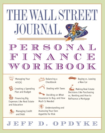 Picture of Books: Money & Finance: The Wall Street Journal. Personal Finance Workbook